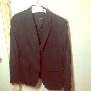 Banana republic pin strip suit jacket